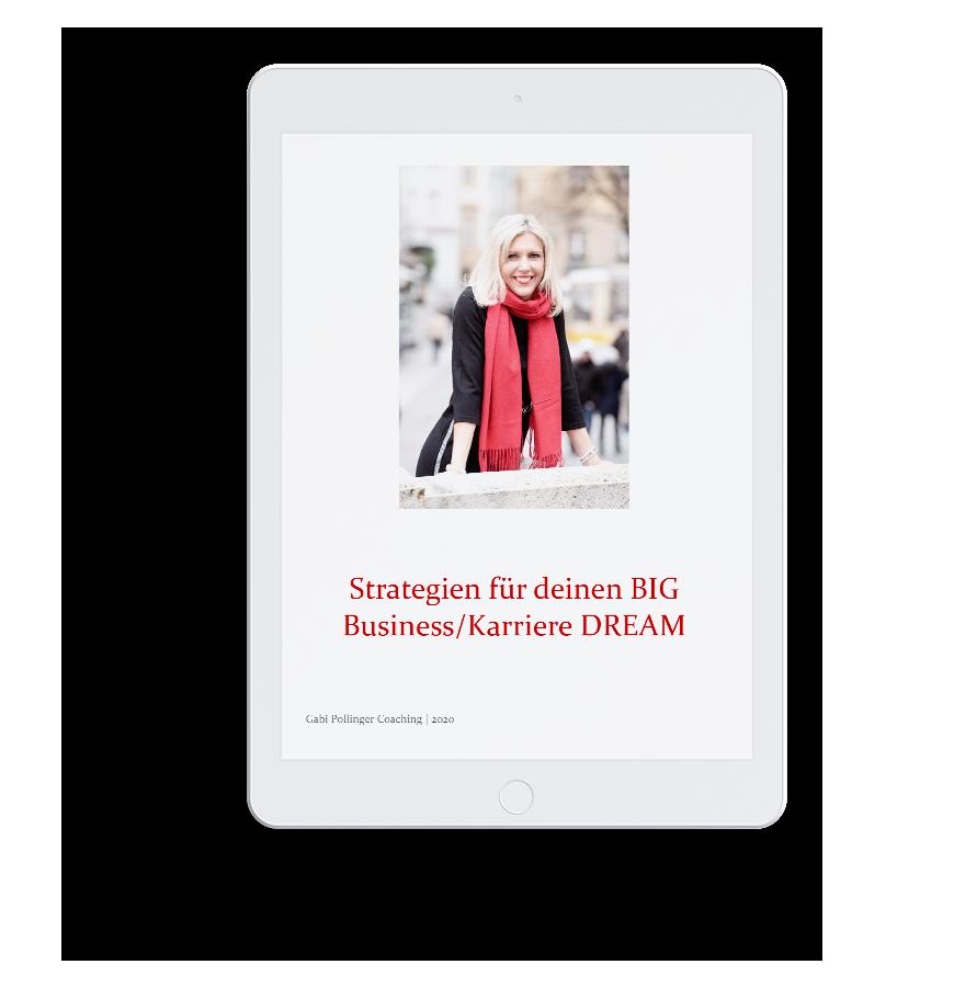 Gabi Pollinger - kostenloses E-Book Strategien für deinen BIG DREAM